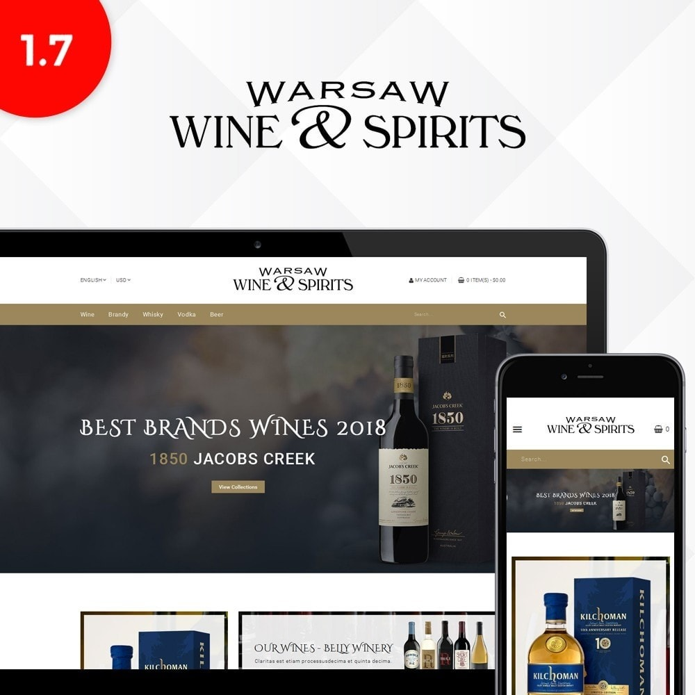 theme - Drink & Tobacco - Wine & Spirits Store - 1