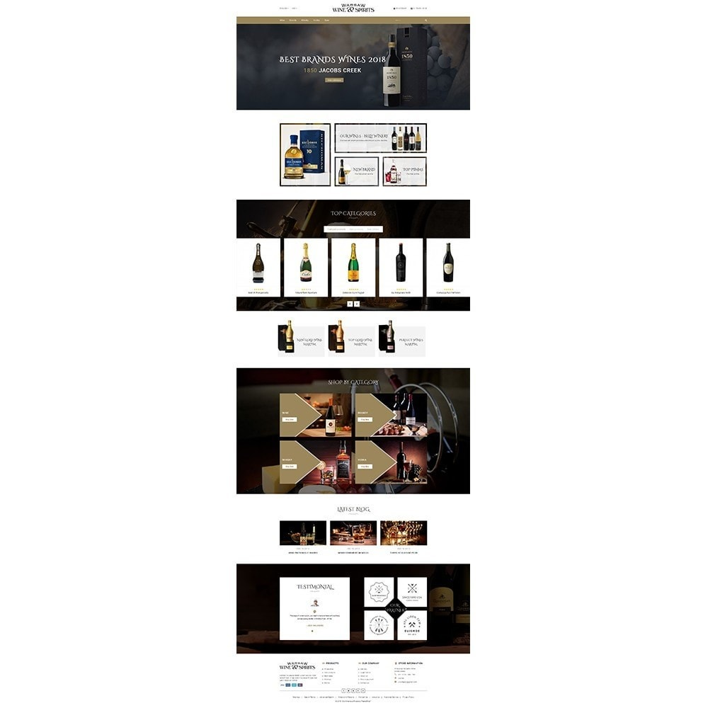 theme - Drink & Tobacco - Wine & Spirits Store - 2