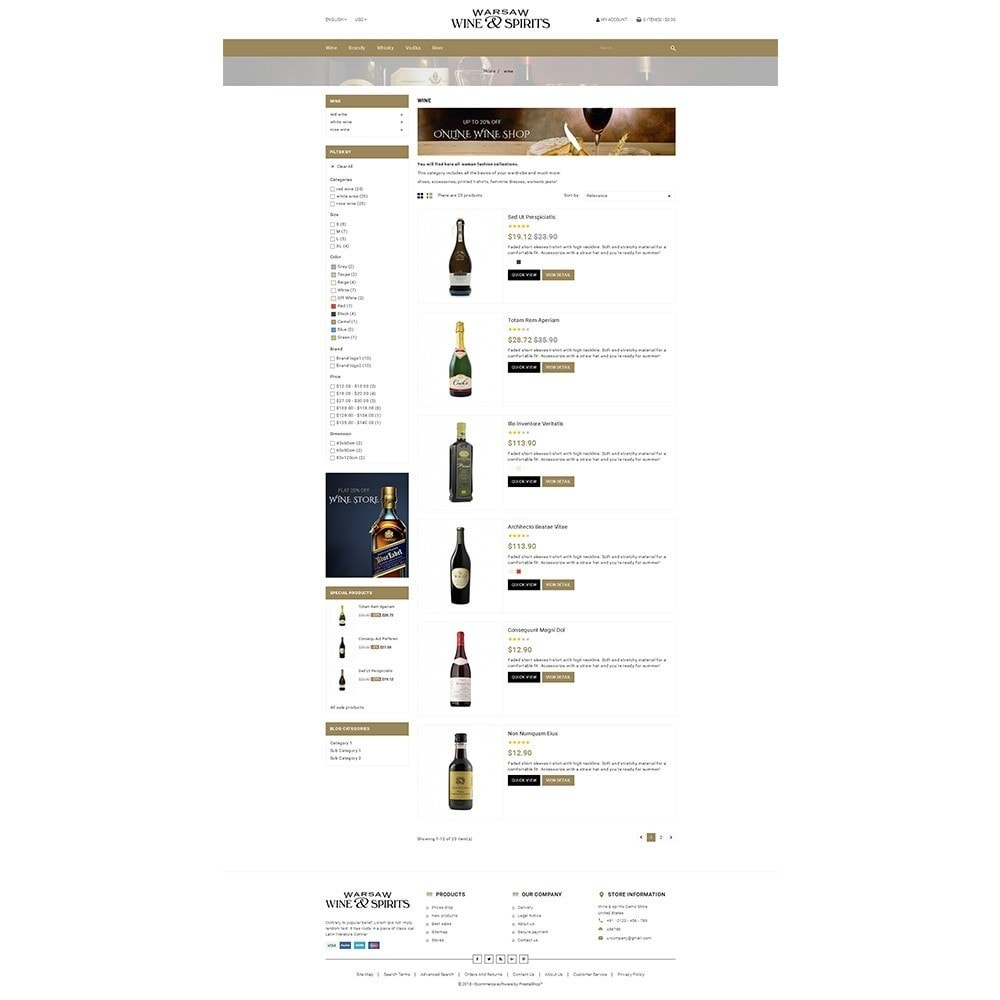 theme - Drink & Tobacco - Wine & Spirits Store - 4
