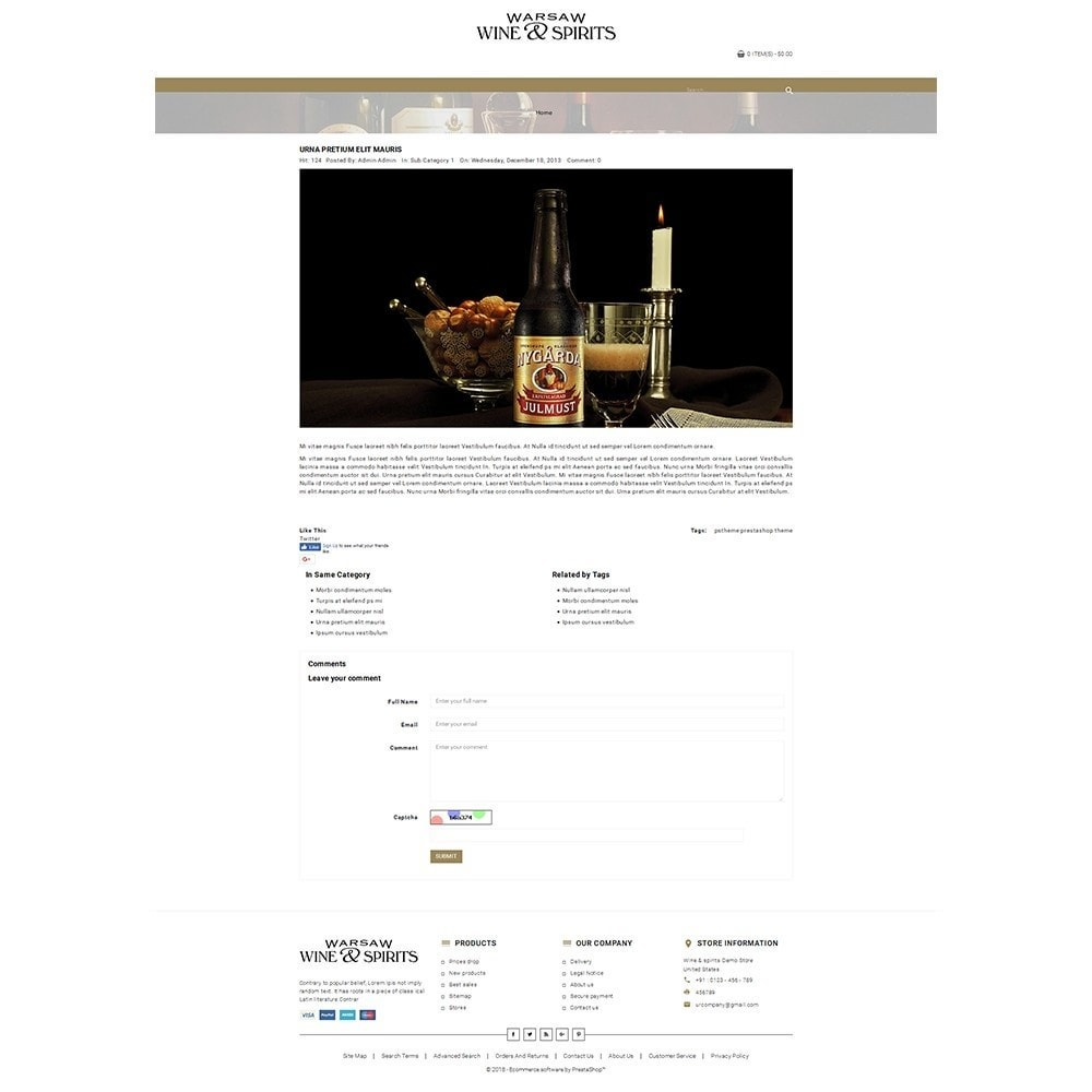 theme - Drink & Tobacco - Wine & Spirits Store - 6