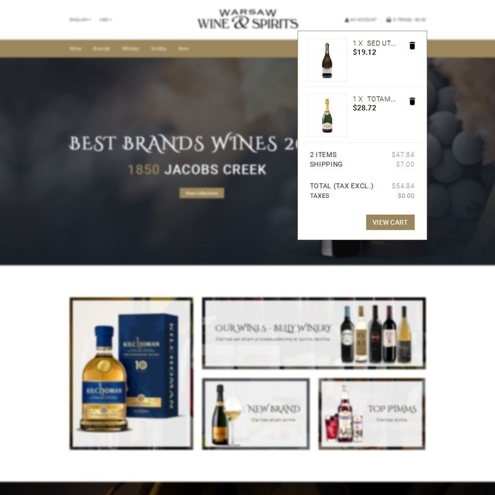 theme - Drink & Tobacco - Wine & Spirits Store - 8