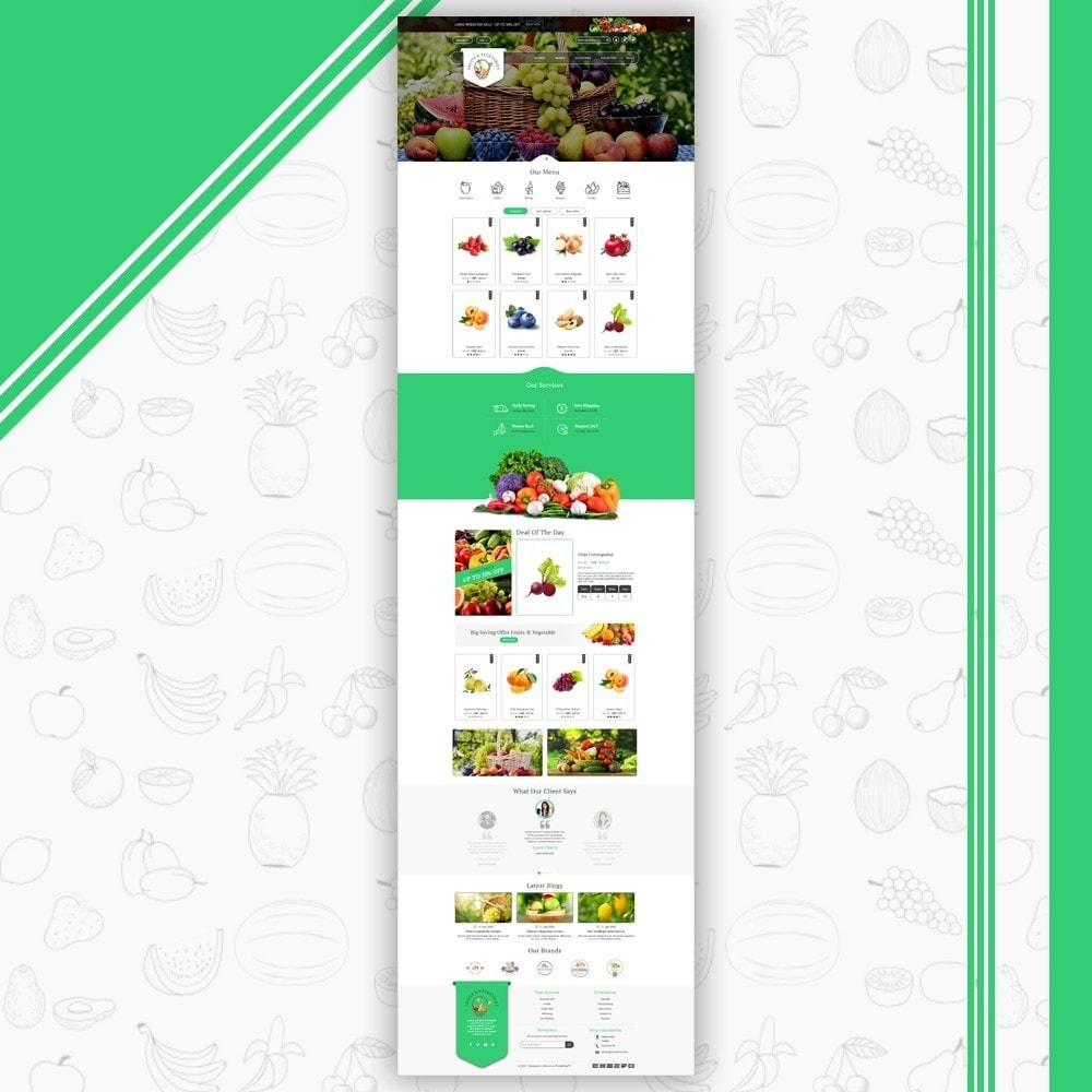 theme - Eten & Restaurant - Fruits & Vegetables Store - 2