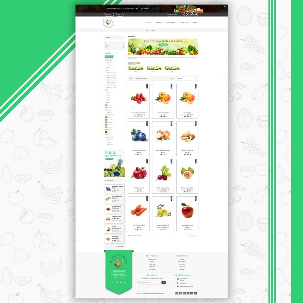 theme - Eten & Restaurant - Fruits & Vegetables Store - 3