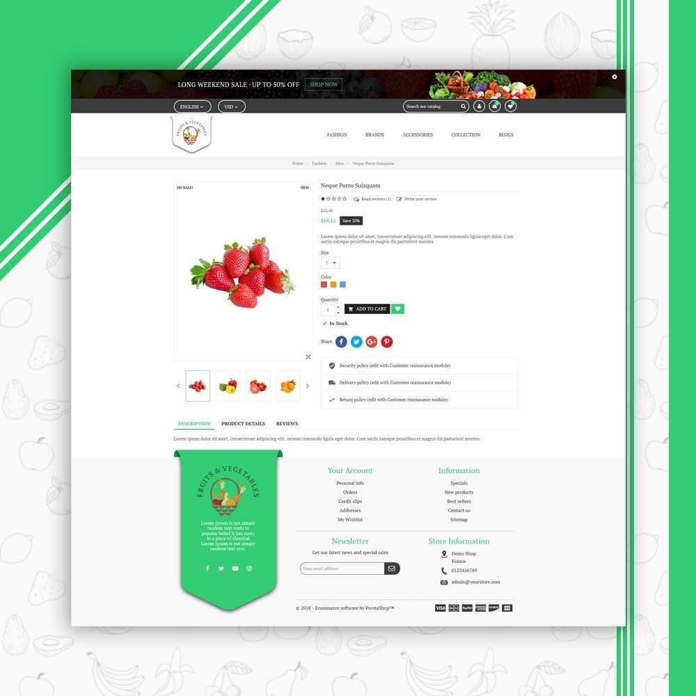 theme - Eten & Restaurant - Fruits & Vegetables Store - 5