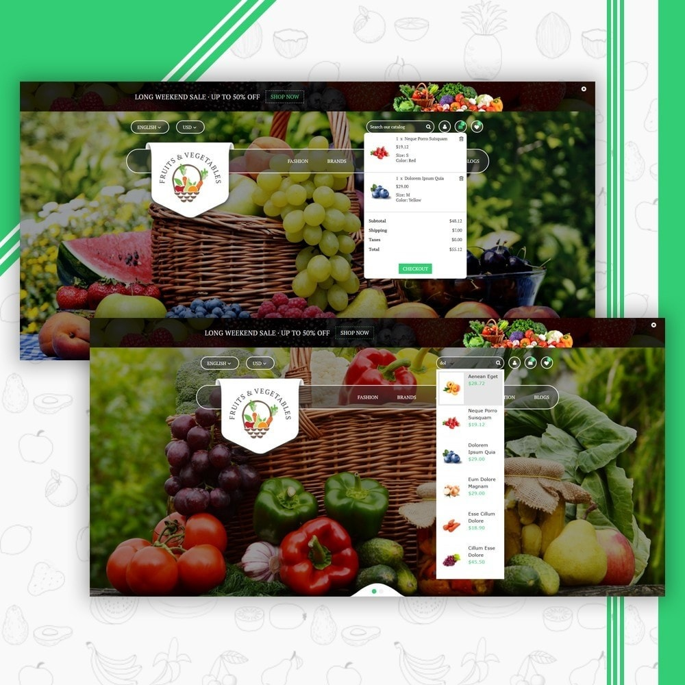 theme - Eten & Restaurant - Fruits & Vegetables Store - 6