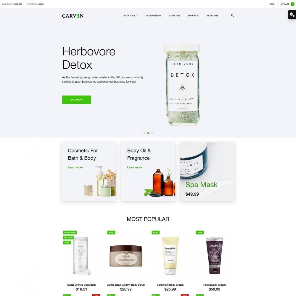 theme - Health & Beauty - Carven Cosmetics - 2