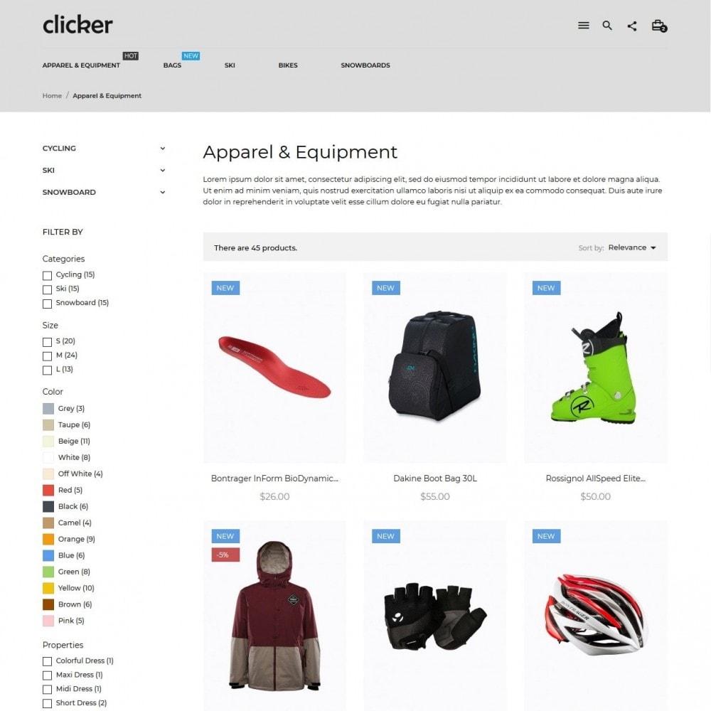 theme - Deportes, Actividades y Viajes - Clicker - 5