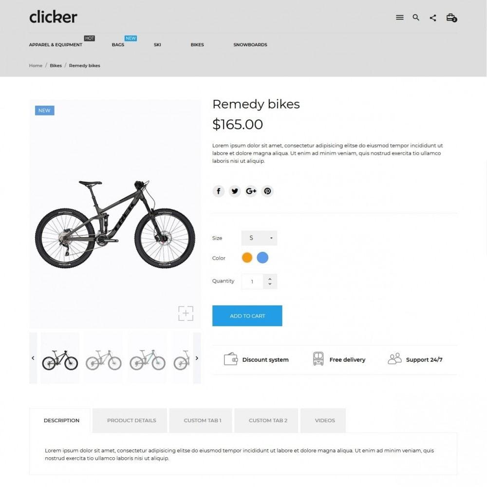 theme - Sport, Activiteiten & Reizen - Clicker - 6