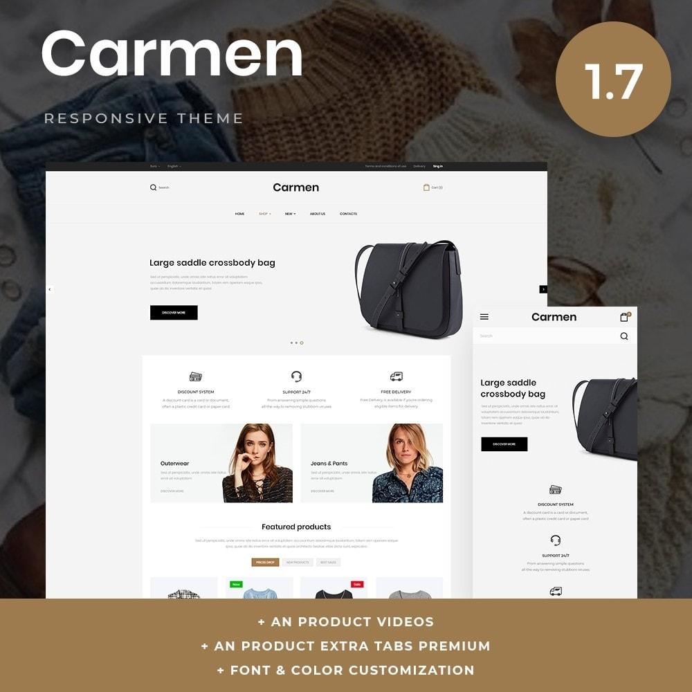 theme - Fashion & Shoes - Carmen Fashion Store - 1