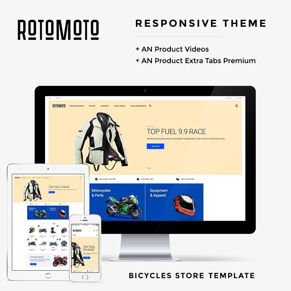 theme - Automotive & Cars - Rotomoto - 1