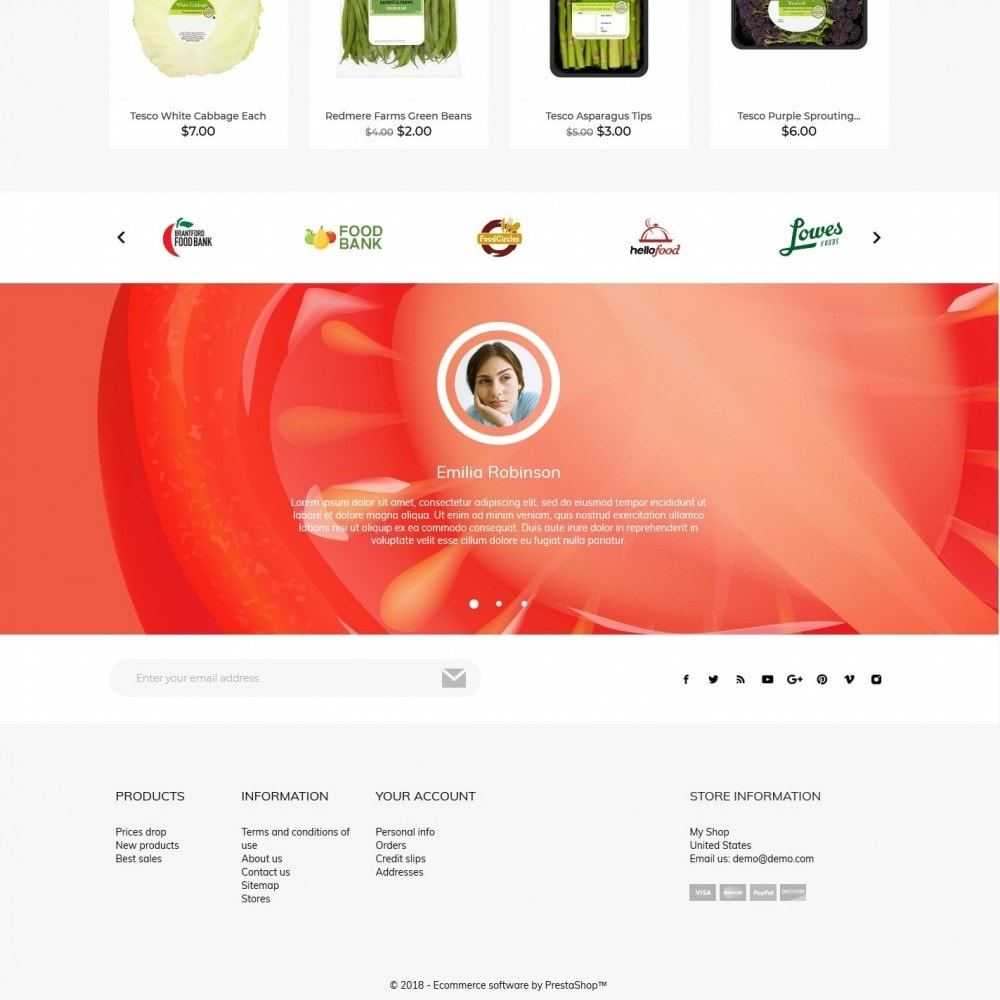 theme - Alimentation & Restauration - FoodMenu - 4