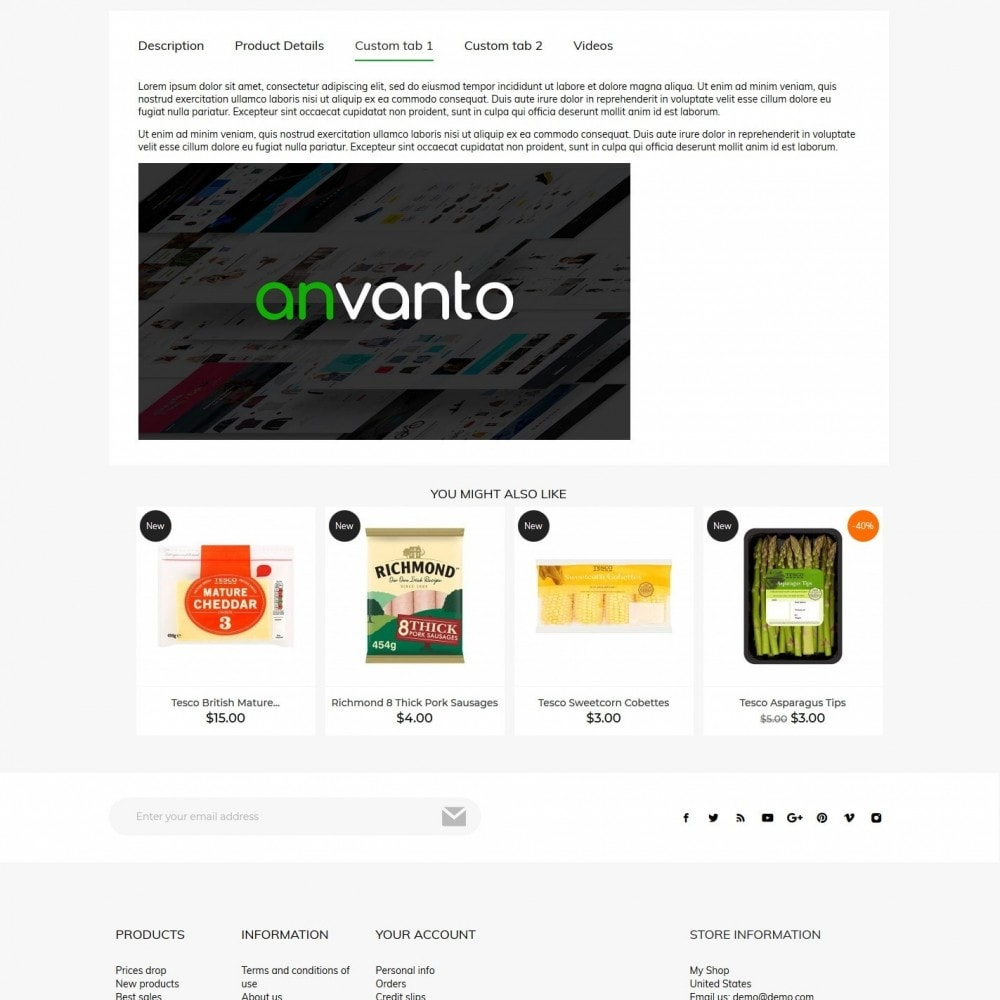 theme - Alimentation & Restauration - FoodMenu - 8