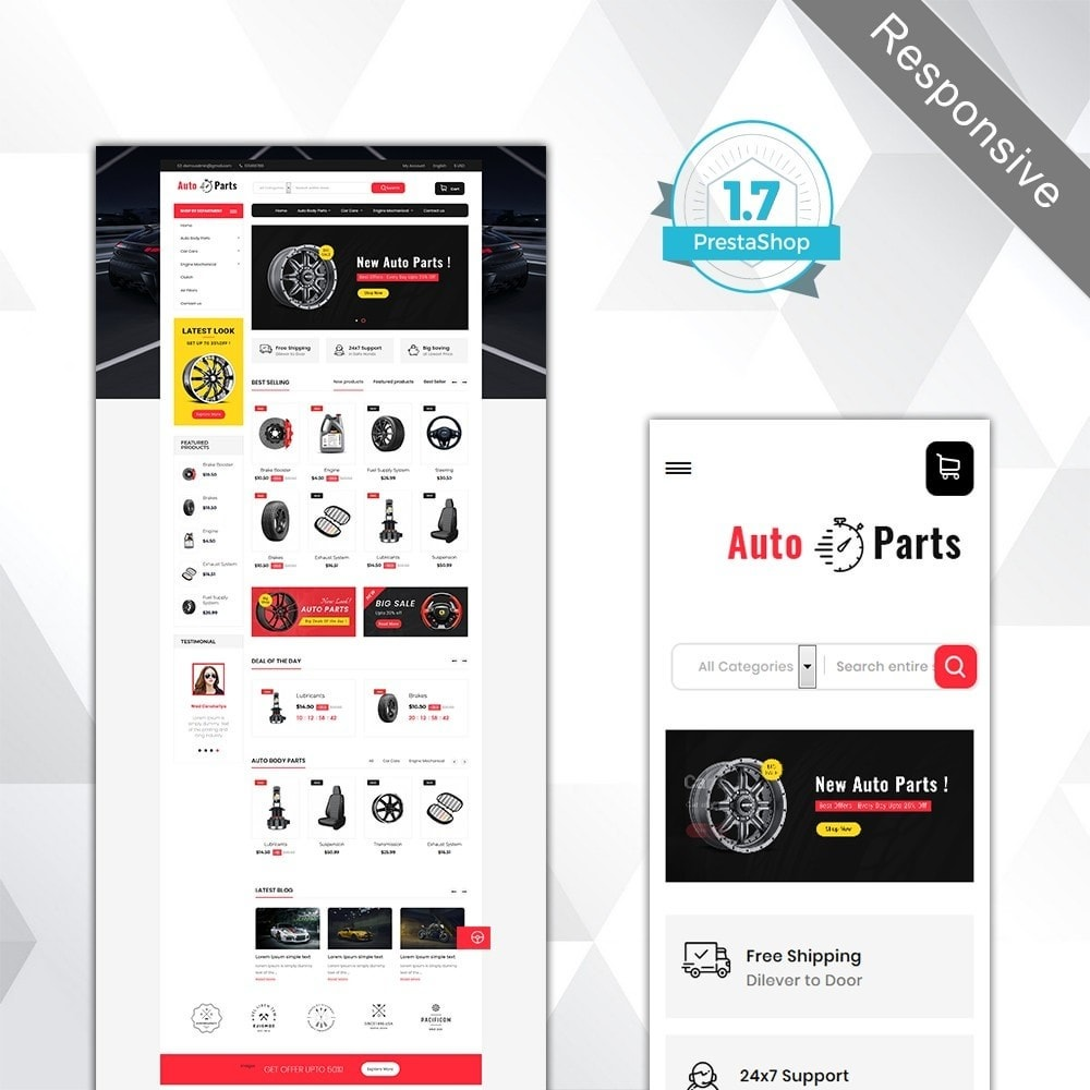 theme - Coches y Motos - Auto part store - 2