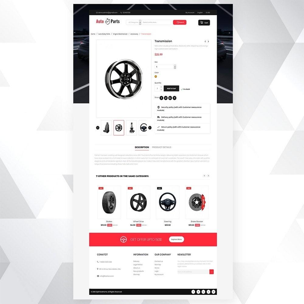theme - Carros & Motos - Auto part store - 6
