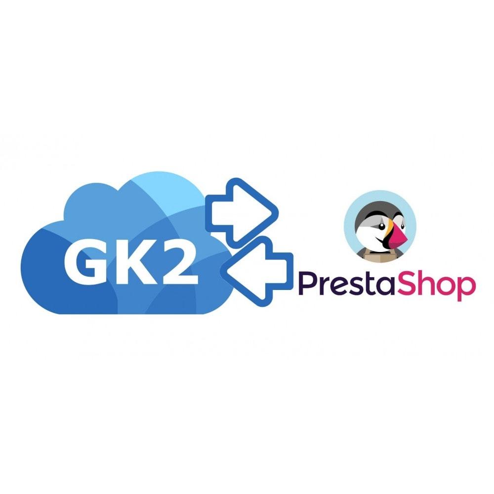 module - Integración con CRM, ERP... - Gk2Catalog - 1