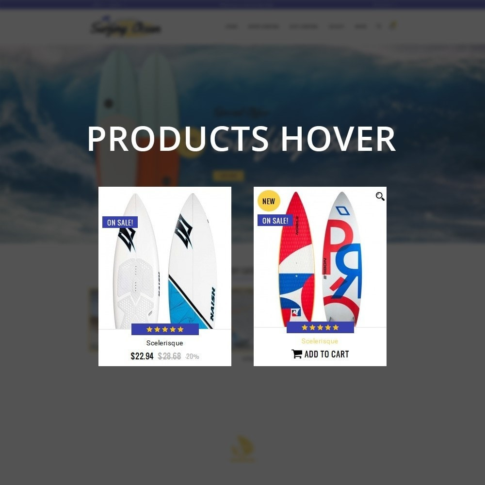 theme - Спорт и Путешествия - Surfing Ocean - The Sport Store - 10