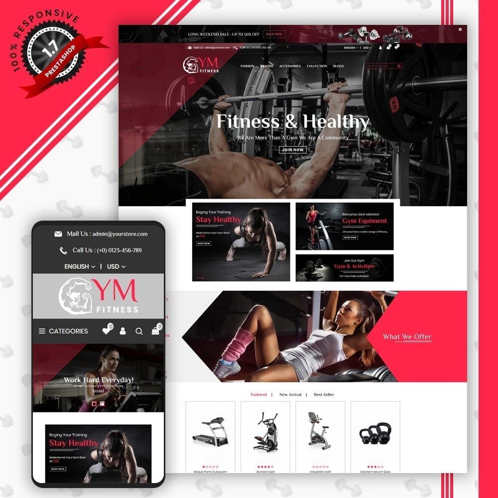 theme - Desporto, Actividades & Viagens - Gym Shop - 1