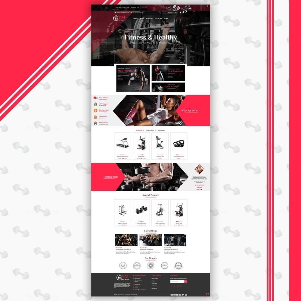 theme - Deportes, Actividades y Viajes - Gym Shop - 2