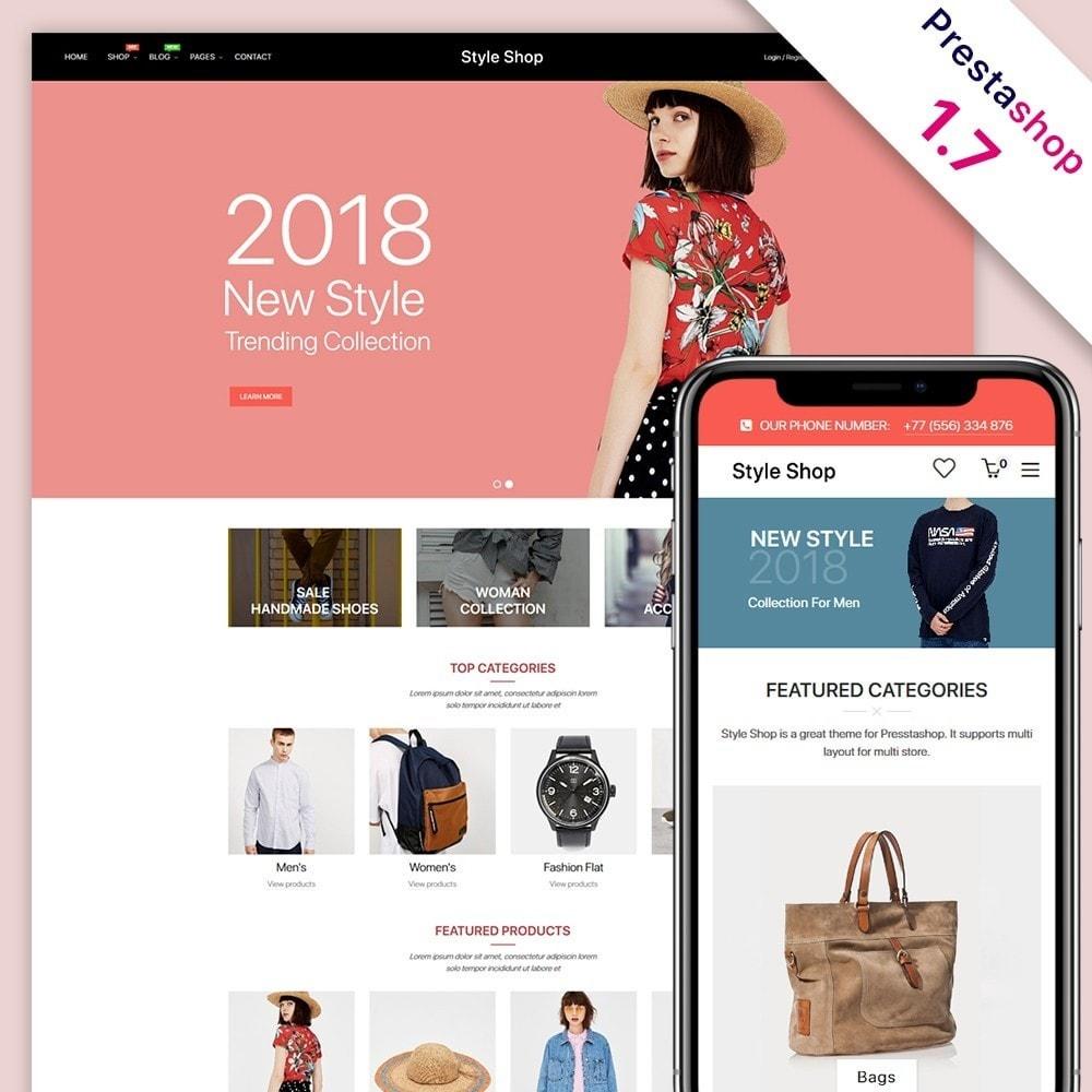 theme - Moda & Calçados - StyleShop - 1