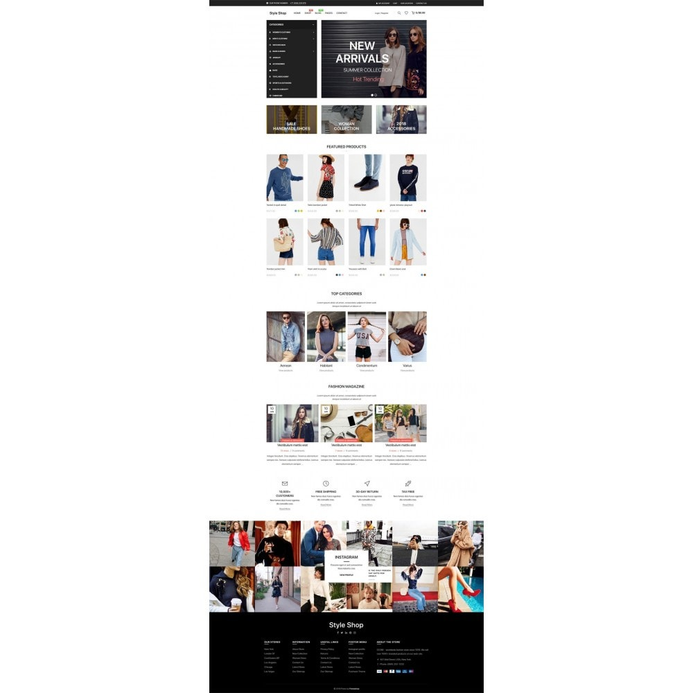 theme - Moda & Calçados - StyleShop - 7