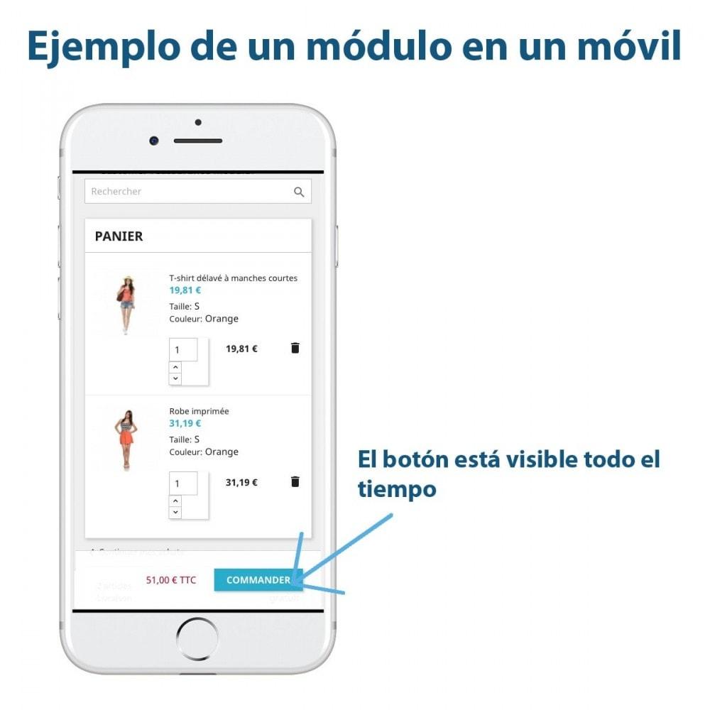 module - Inscripción y Proceso del pedido - Sticky Botón en el Carrito - 2