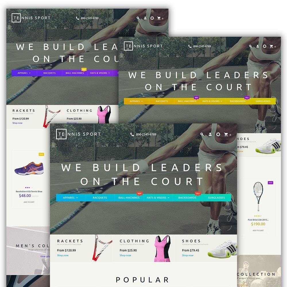 theme - Desporto, Actividades & Viagens - Tennis Sport - 2