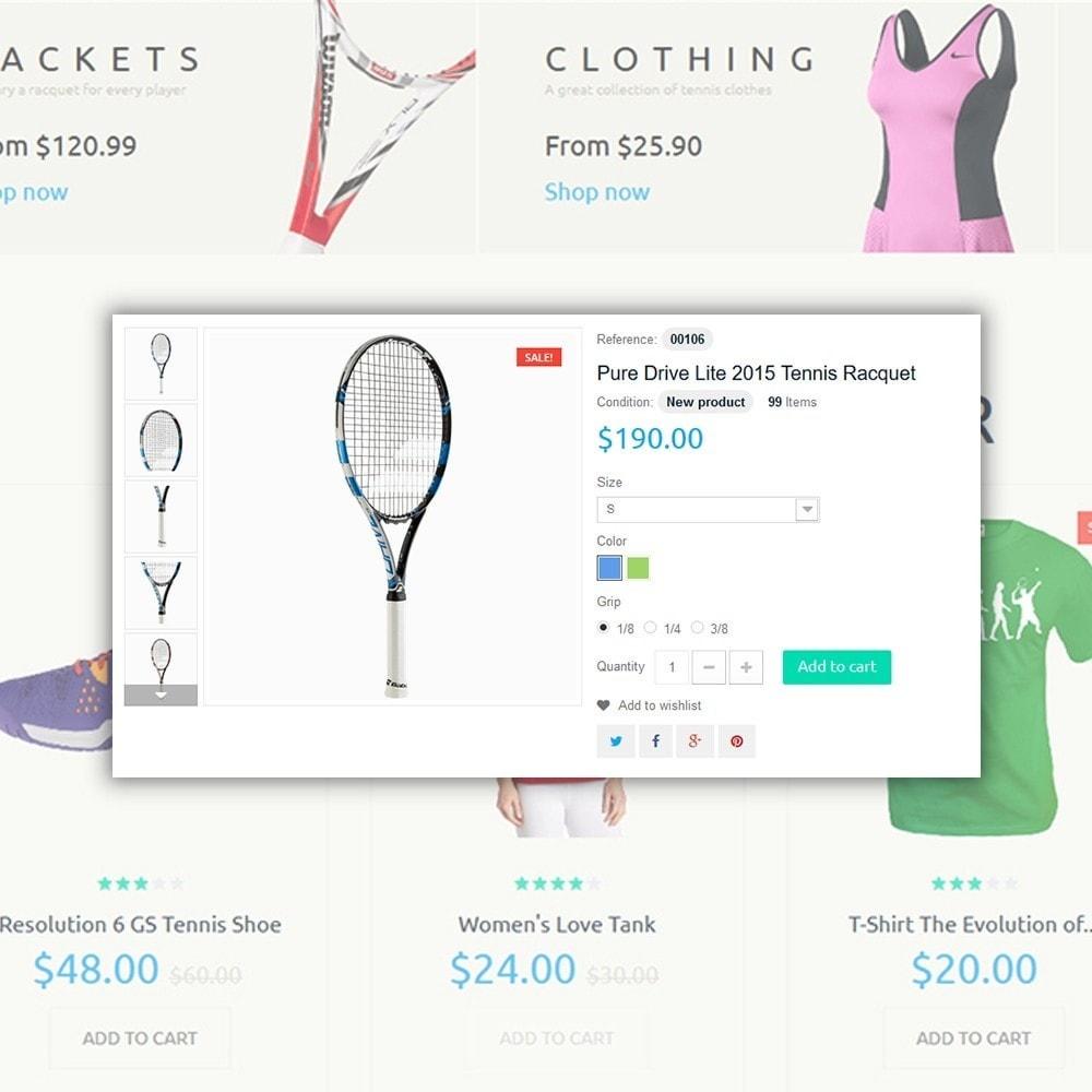 theme - Desporto, Actividades & Viagens - Tennis Sport - 4