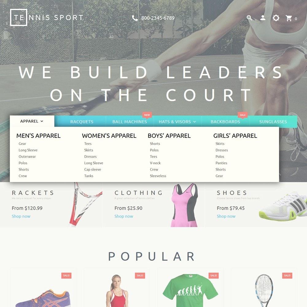 theme - Desporto, Actividades & Viagens - Tennis Sport - 5