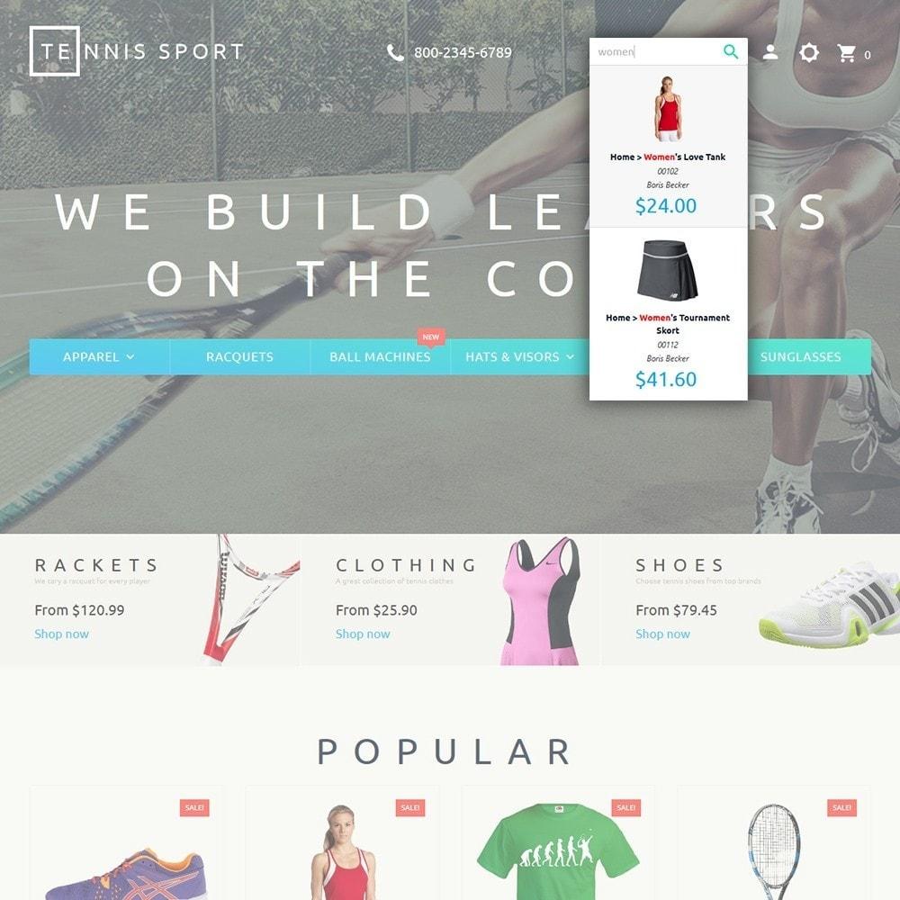 theme - Desporto, Actividades & Viagens - Tennis Sport - 6