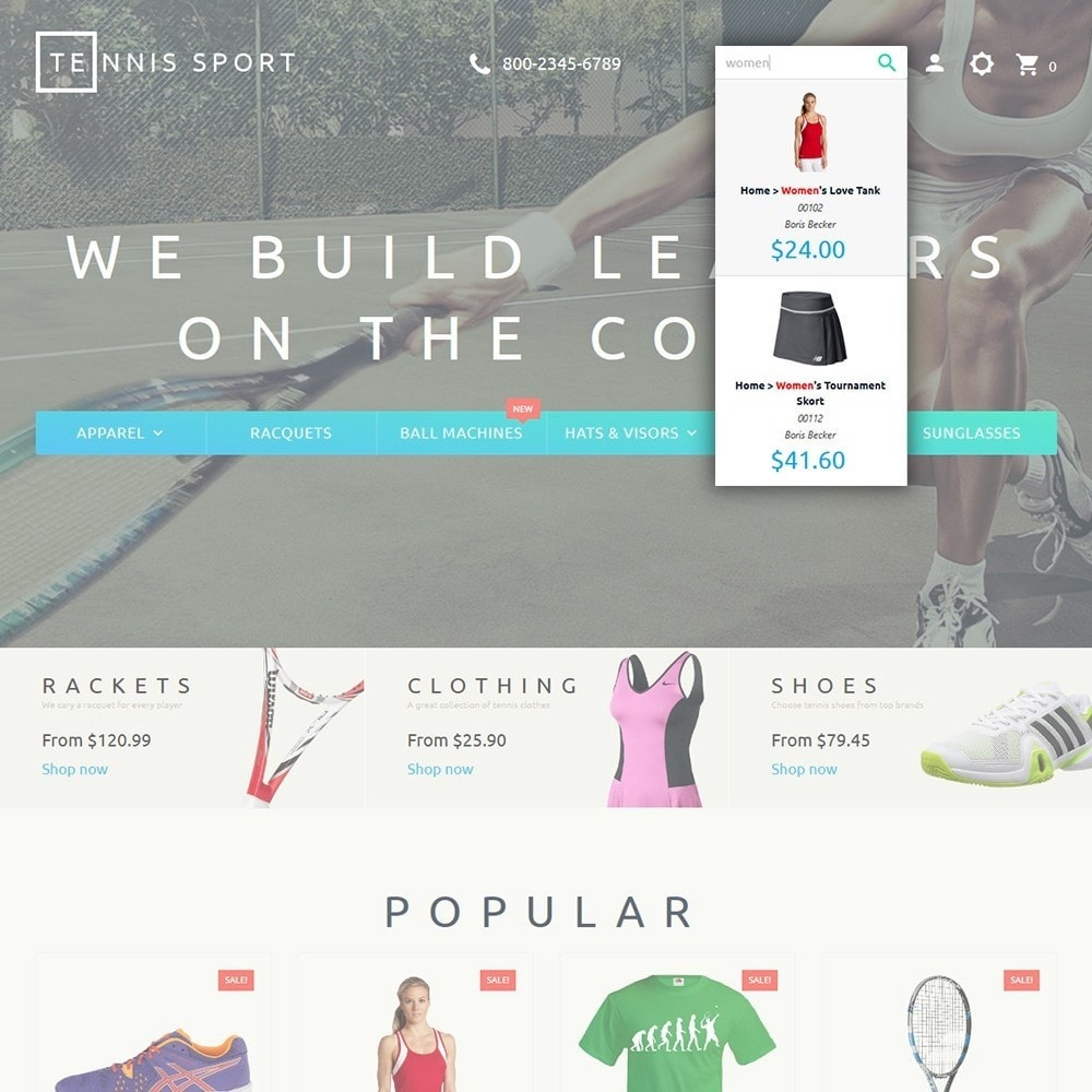 theme - Sports, Activities & Travel - Tennis Sport - 6