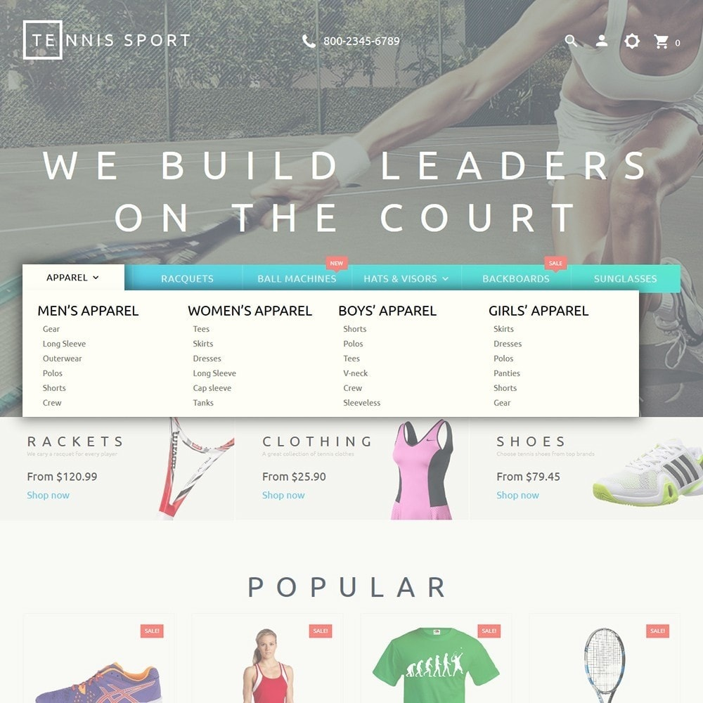 theme - Sport, Loisirs & Voyage - Tennis Sport - 5