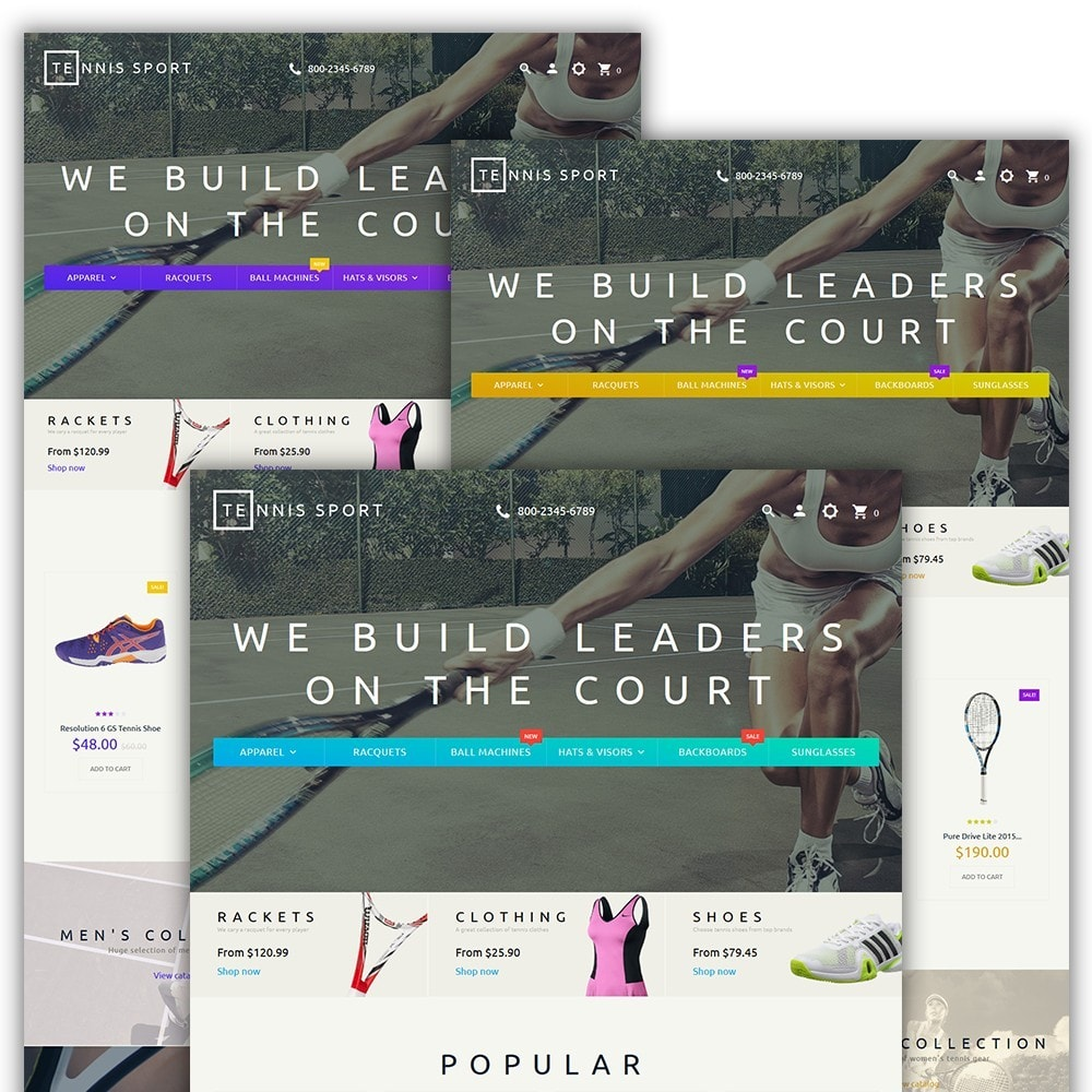 theme - Sport, Attività & Viaggi - Tennis Sport - 2