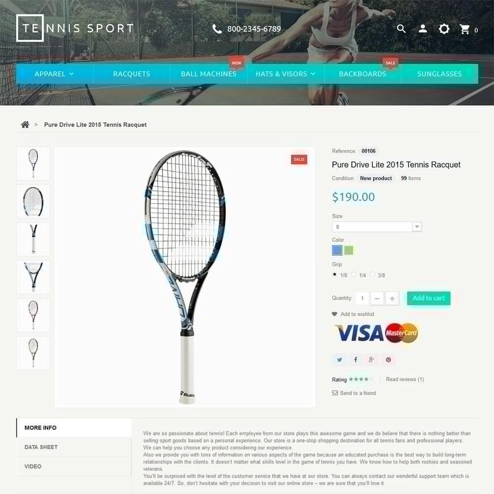 theme - Sport, Attività & Viaggi - Tennis Sport - 3