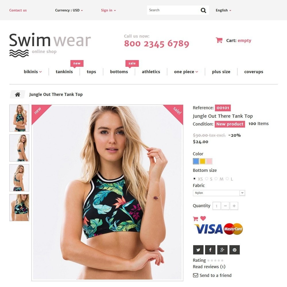 theme - Fashion & Shoes - Swimwear - 4