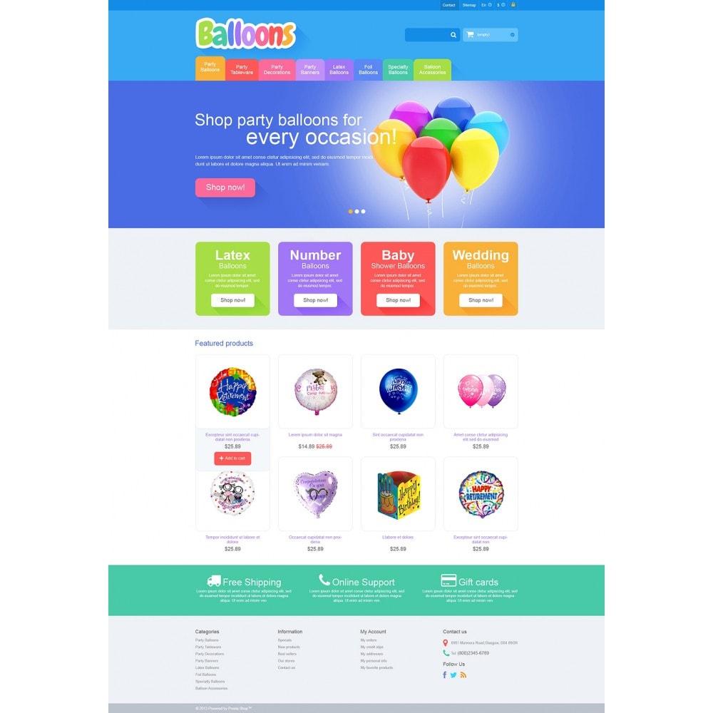 theme - Kids & Toys - Responsive Balloons Store - 2