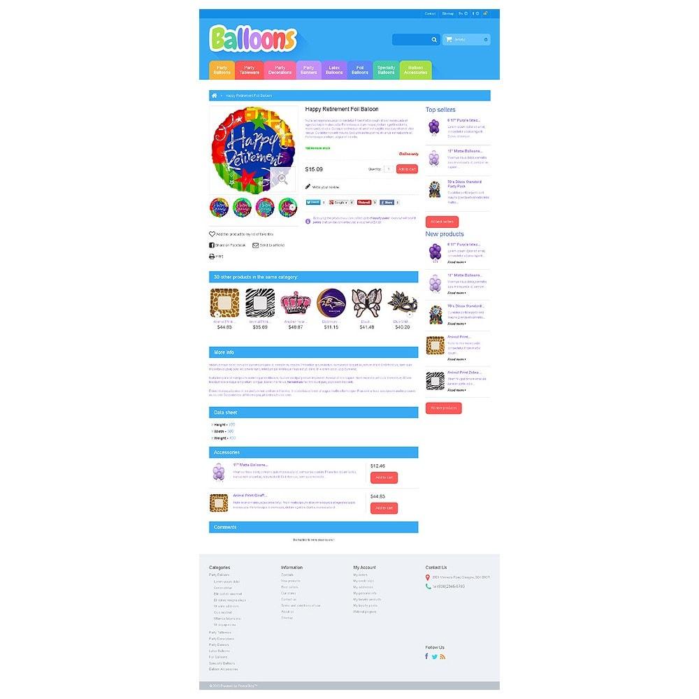 theme - Kids & Toys - Responsive Balloons Store - 6