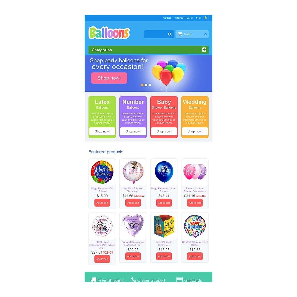 theme - Kids & Toys - Responsive Balloons Store - 7