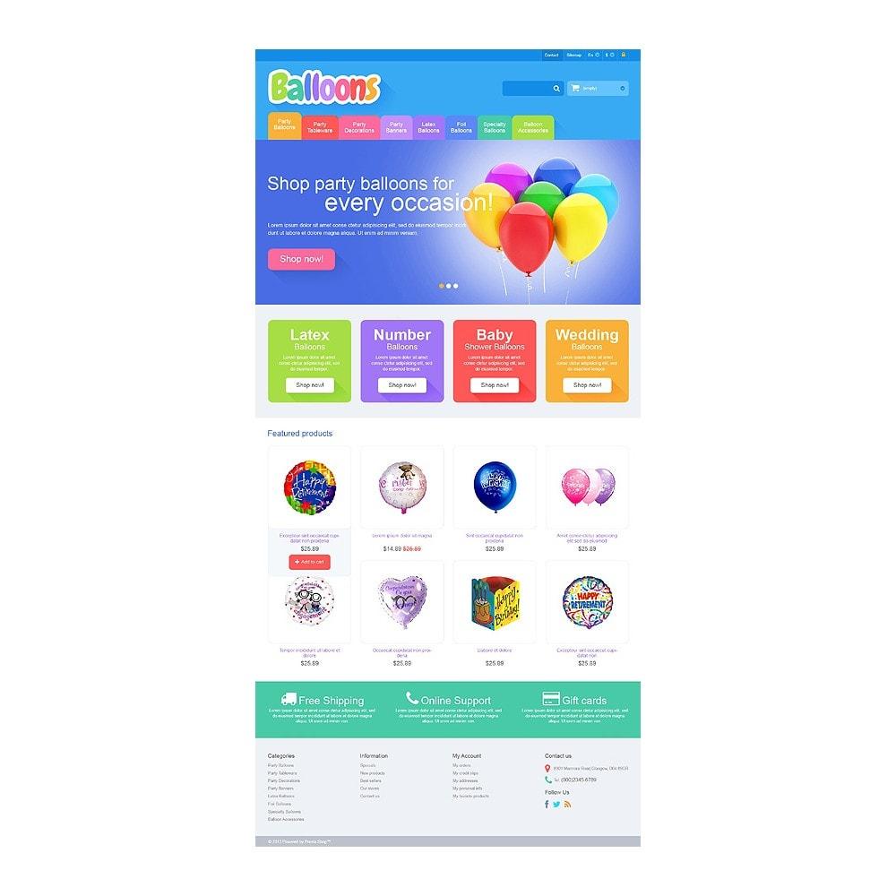 theme - Kids & Toys - Responsive Balloons Store - 10