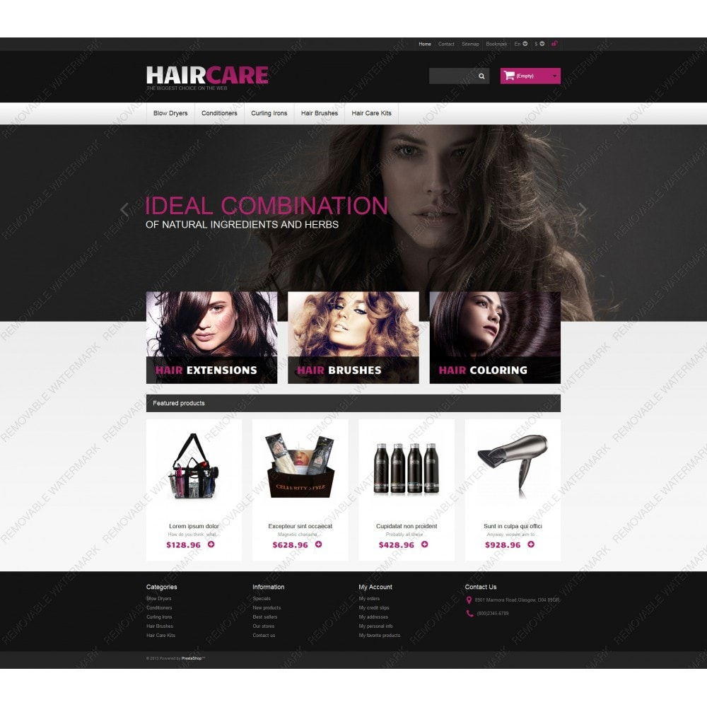 theme - Mode & Schuhe - Ideal Hair - 5