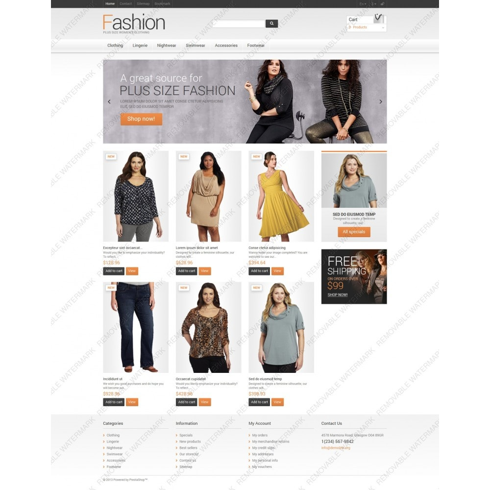theme - Mode & Chaussures - Clothes for Plump Women - 3
