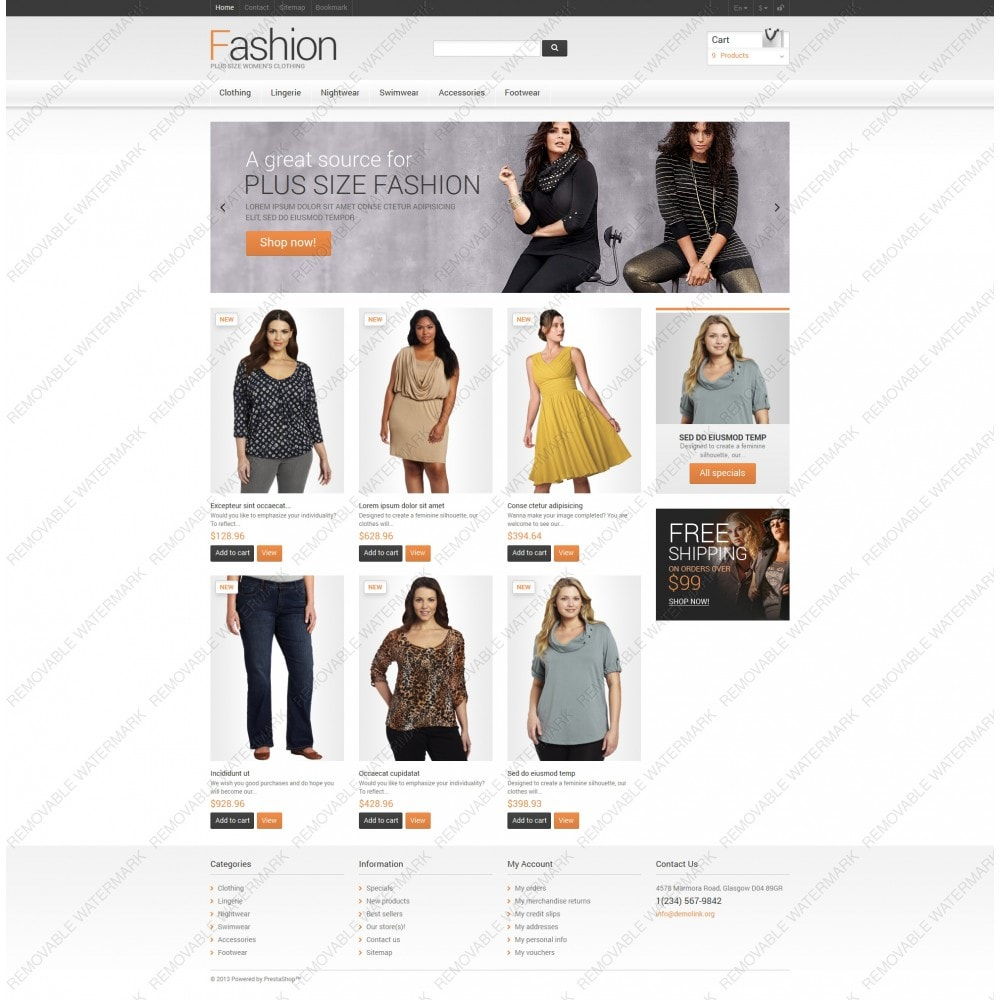 theme - Mode & Chaussures - Clothes for Plump Women - 5