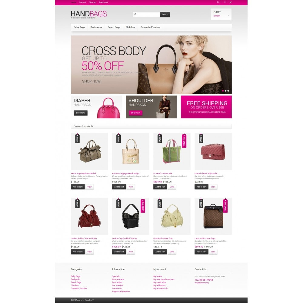 theme - Mode & Chaussures - Handbags Store - 4