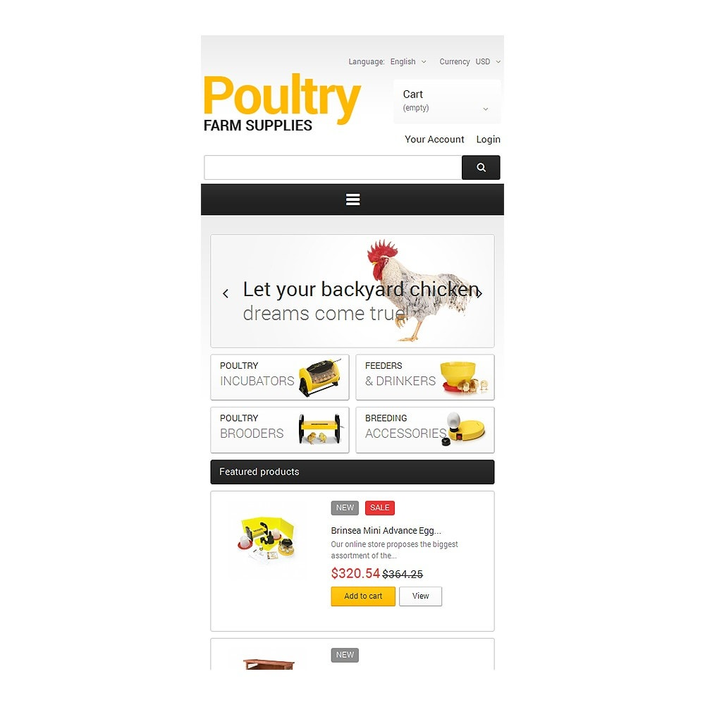 theme - Casa & Jardins - Poultry Farm Supplies - 8