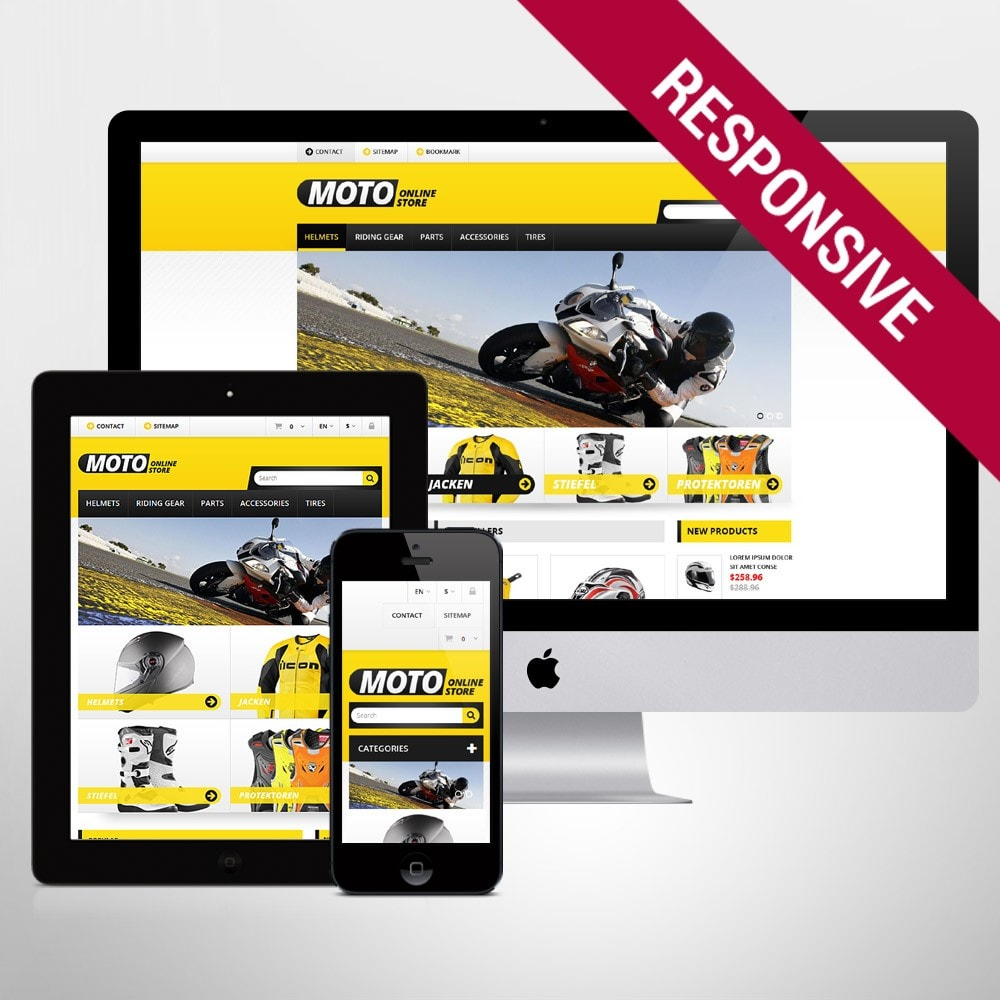 theme - Carros & Motos - Bike Shop - 1