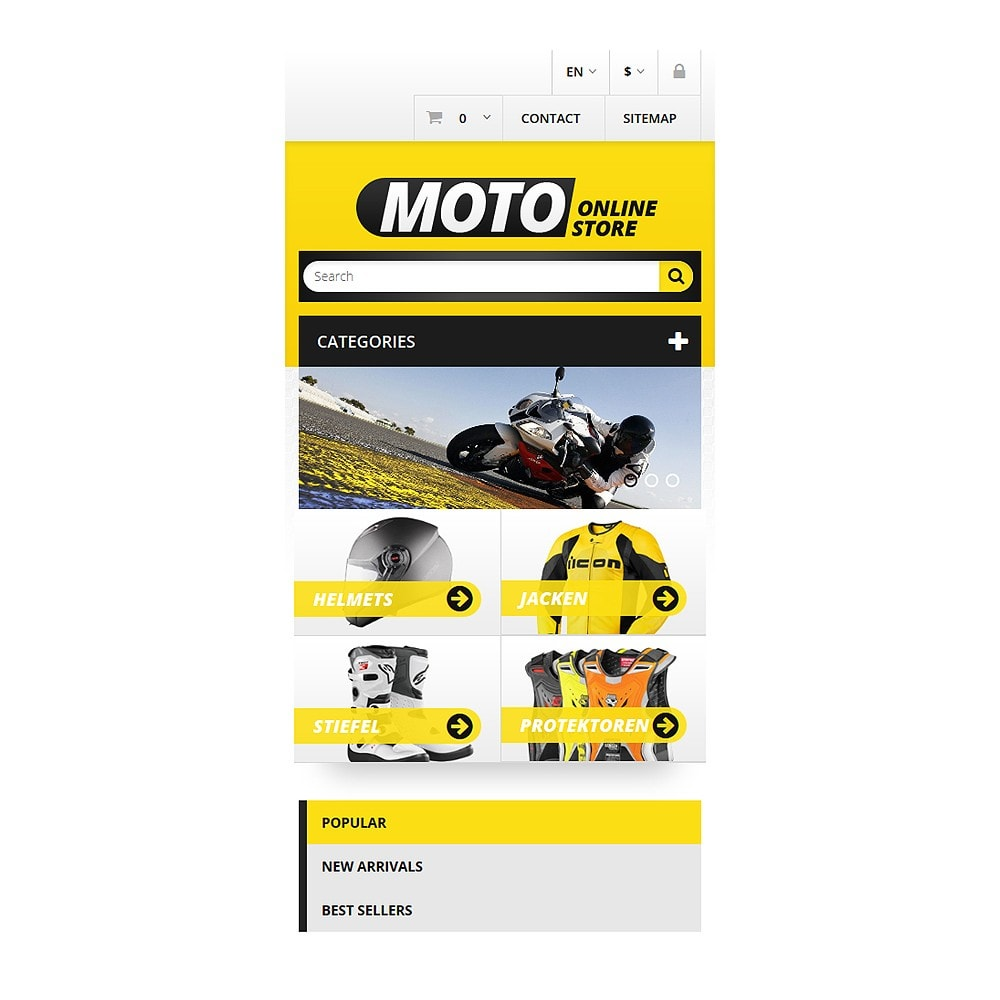 theme - Carros & Motos - Bike Shop - 8