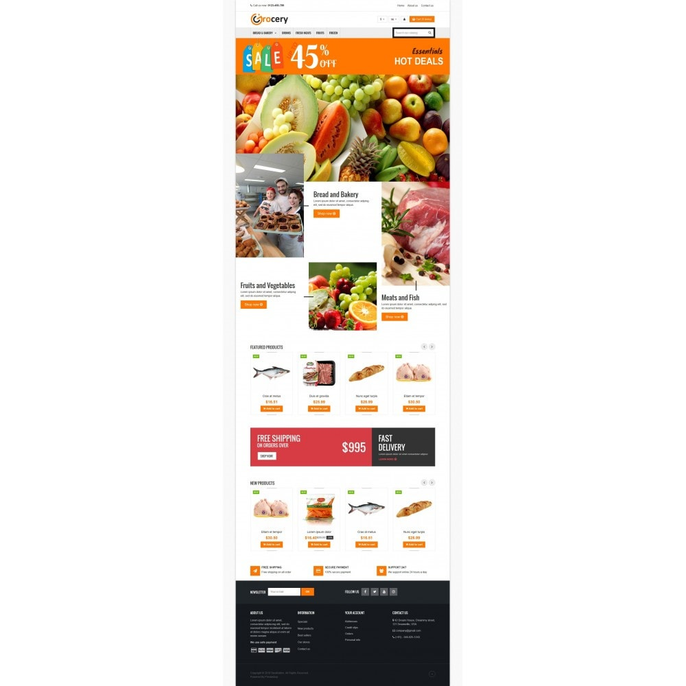 theme - Food & Restaurant - VP_Grocery Store - 2
