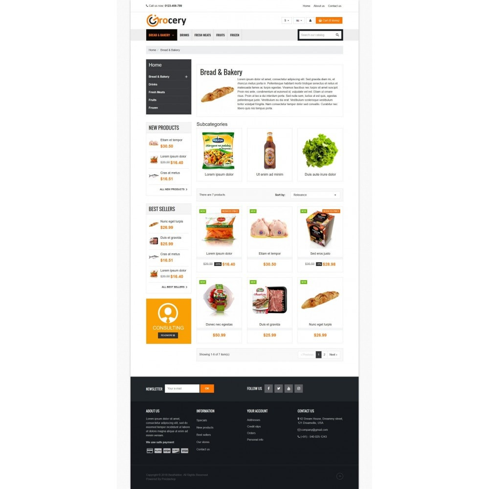 theme - Food & Restaurant - VP_Grocery Store - 3