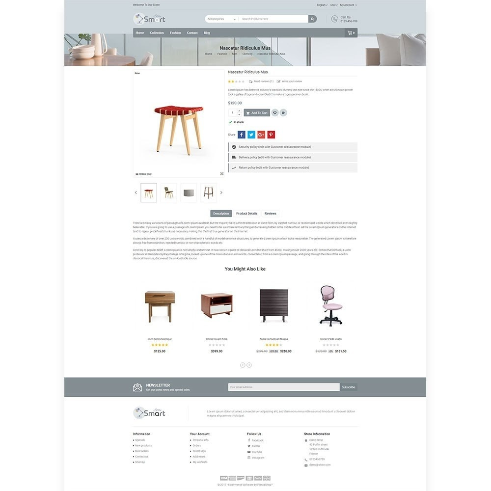 theme - Дом и сад - Furniture Smart Store - 5