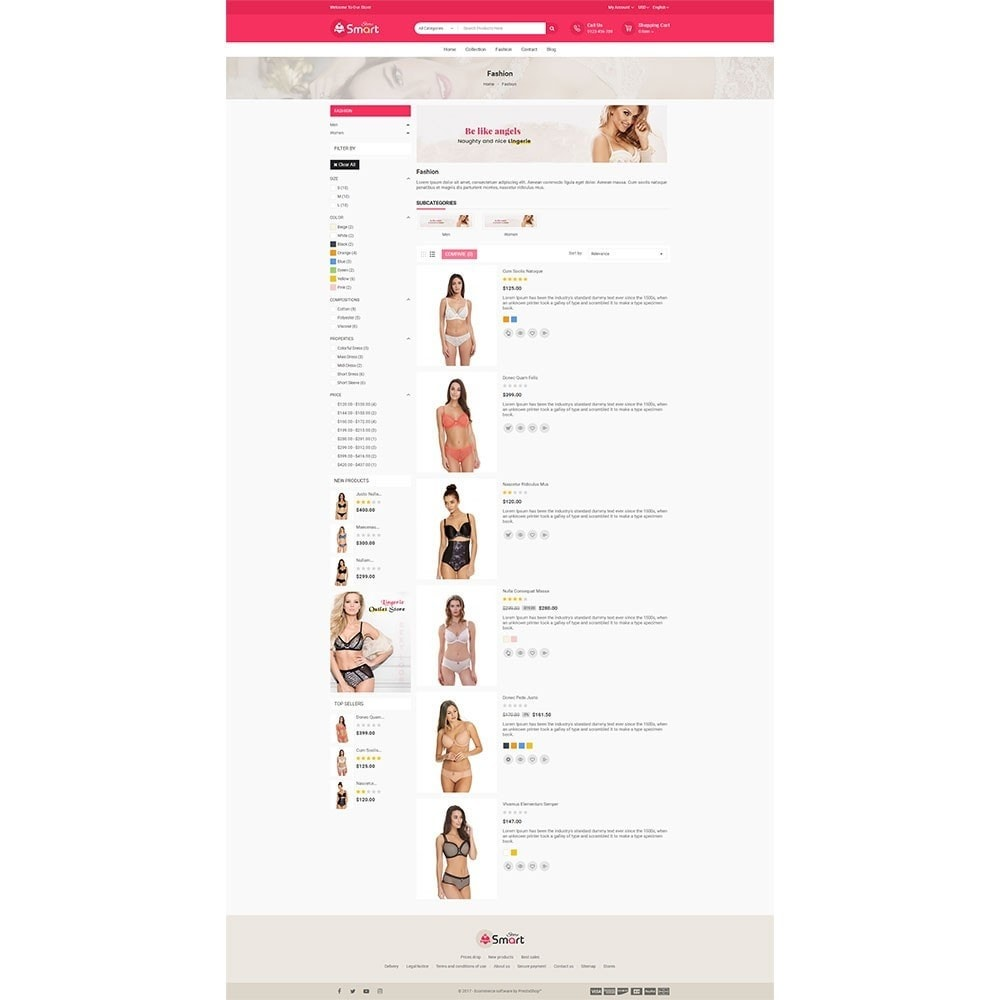 theme - Lingerie & Adultos - Lingerie Smart Store - 4