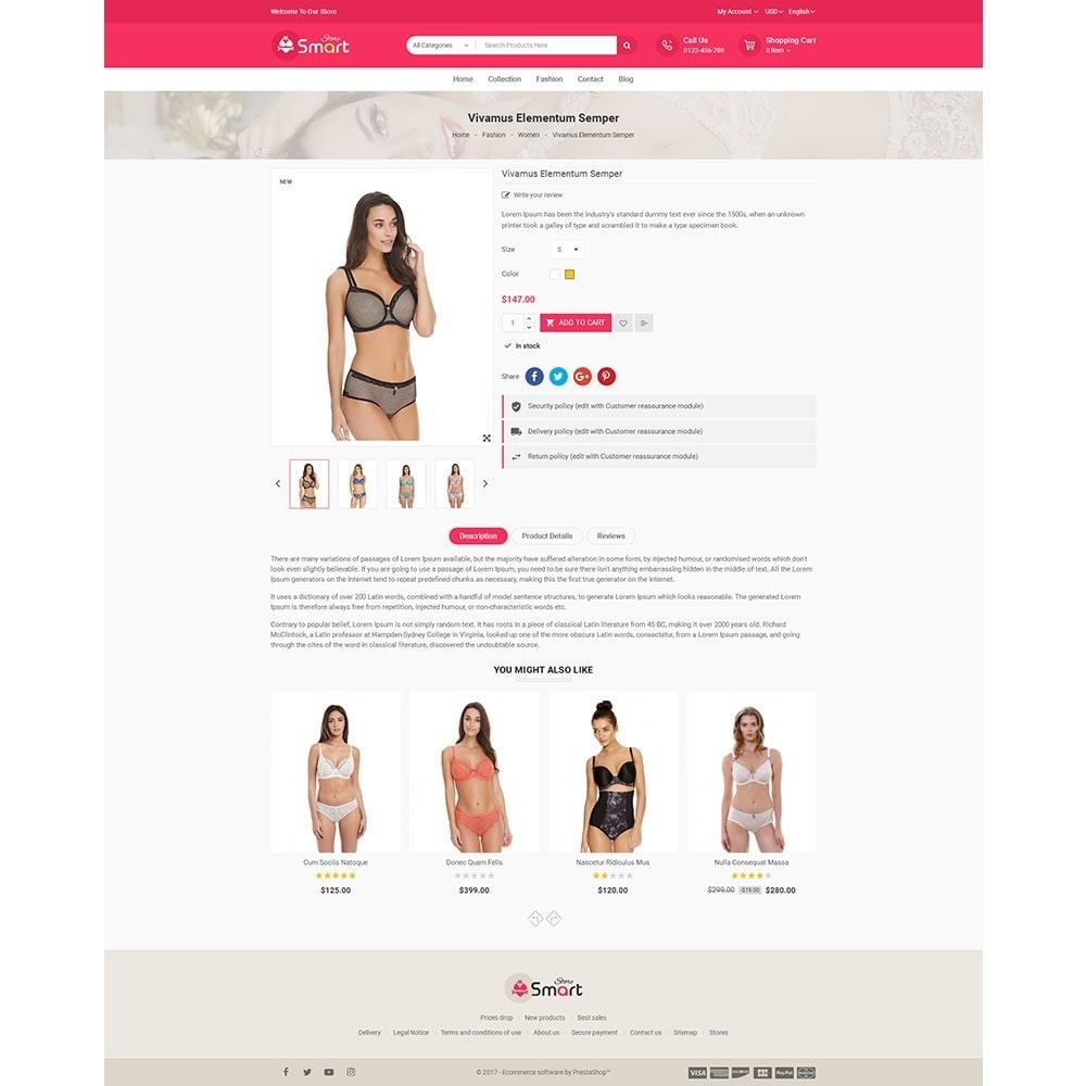 theme - Lingerie & Adultos - Lingerie Smart Store - 5